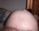 A few mens cum on my belly, I let guys fuck me when 7-8 months preggie but ...