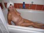 angel nude in the bathtub