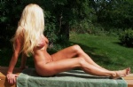 Love the feel of the sun on my naked body