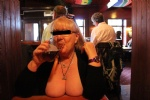 had to get my tits out in the pub