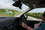 driving with my tits out around cornwall