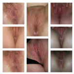 Pussy collage...all pics are my slutwife
