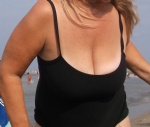 Big Tit Wife At the Beach
