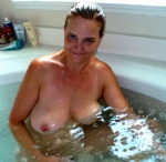 HouseWhore bathing at your house after sex..