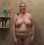 Wife's big suckable breasts will be getting man handled later this evening.