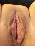She needs a big tongue pressed against that clit. She is so wet