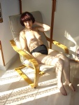 Paola in the autumn sun