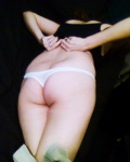 White Thong needs removed