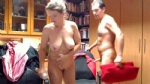 A view into our office....my wife & me playing...webcam always on...comment...