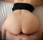 Motel fetish series - big butt bang