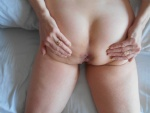 Her ass: I can't get enough of eating it, fingering it and fucking it- and ...