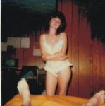 donna in lingerie