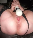 Squirting from my wet ringed pussy stick your face down here xxx