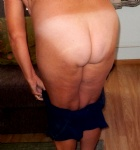 She is my 57 y/o wife.Do you like her ass.....