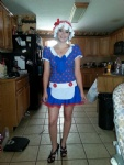 happy halloween, I'm one strawberry shortcake that needs filling ;)