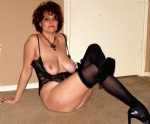 HouseWhore luvs to tease before she drains your ball-sak dry..