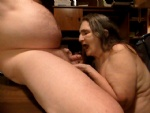 picture stages of me sucking off my husband cock at dinner table, getin me ...