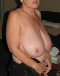 I LOVE MY CO-WORKER'S BIG SAGGY GRANNY TITTIES.