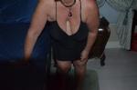 Slut dressed for guests