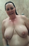 Wife's big suckable tits
