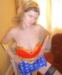 Big tit Wonderwoman to abduct and abuse - any takers?