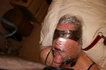 Sub S - wrapped and ready for a face fuck