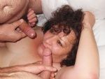 Hanging out and sucking off my husband's friends