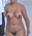Wife full frontal.