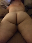 What do think of the wife's curvy bum..Tell us what you think guys?