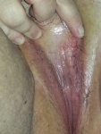 My fb love licking her cunt after her hubby has fuccked her