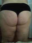 My wife chunky curvy butt..Tell us what you think guys?