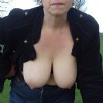 My titties have popped out of my bra!