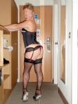 my slut wife answering the door to her client