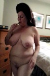 Fresh from the shower. She should be fucked.