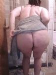 Freshly washed bbw booty