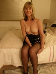 Bra gone, like to spunk up all over my breasts??