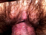 HW letting it grow...Anyone want to put yur Peenus inside her wet pink vagi...