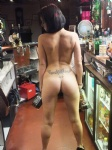 naked in the pub