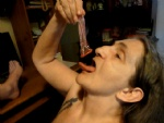 sucking off my man in a strawberry flavored condom I am such a dirty whore ...