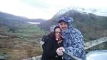 Me n heidi near mount snowdon xx