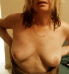 Just thought hey flash your tits