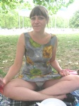 Flashing Knicks in the park