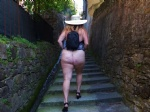 Follow me up those stairs.....