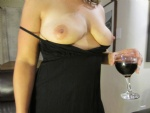 My sexy wife's tits :)