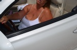 Flashing in the convertible