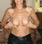 flashing titties