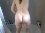 Her big round bottom for your viewing pleasure!