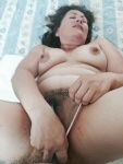 My BF is in my ass and my dildo is in my pussy, doble penetration... delici...