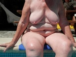 nude at the pool for you to commeny on