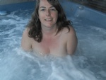love to play in the hot tub....anyone want to see more?? love tribute or cu...